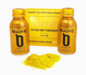 ReadyQ hangover prevention with turmeric