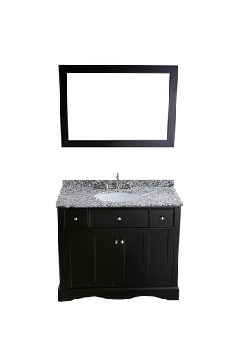 "Bosconi SB-2205 39"" Contemporary Single Vanity"
