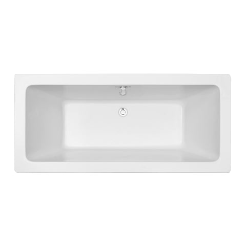 60″ Soaking Freestanding Tub With Internal Drain