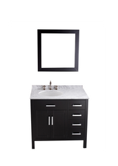 "Bosconi SB-2105 36"" Contemporary Single Vanity"
