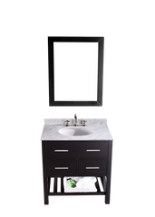 "Bosconi SB-250-1 30"" Contemporary Single Vanity"