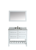 "Image of Bosconi SB-250-3WH 36"" Contemporary Single Vanity"