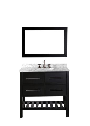 "Bosconi SB-250-3 36"" Contemporary Single Vanity"