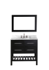 "Image of Bosconi SB-250-3 36"" Contemporary Single Vanity"