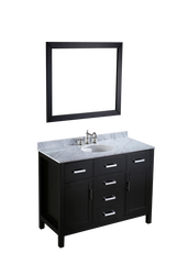 "Bosconi SB-252-6 49"" Contemporary Single Vanity"