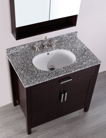 Bosconi SB-252 36'' Contemporary Single Vanity