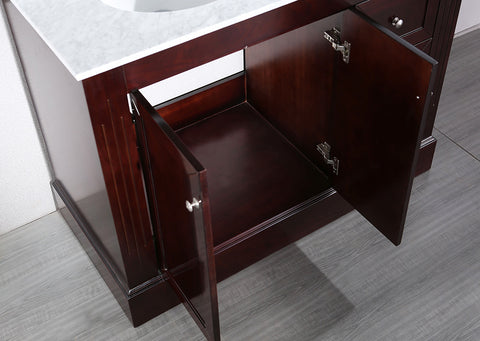 "Bosconi SB-255 45"" Contemporary Single Vanity"