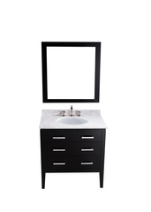 "Bosconi SB-260 31"" Contemporary Single Vanity"
