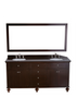 "Image of Bosconi SB-261 73"" Contemporary Double Vanity"
