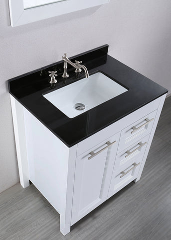 "Bosconi SB-267-1 30"" Contemporary Single Vanity"