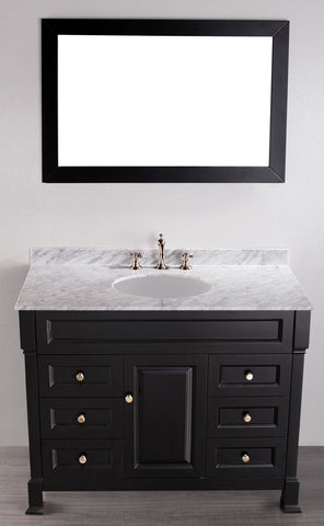 "Bosconi SB-278 43"" Contemporary Single Vanity"