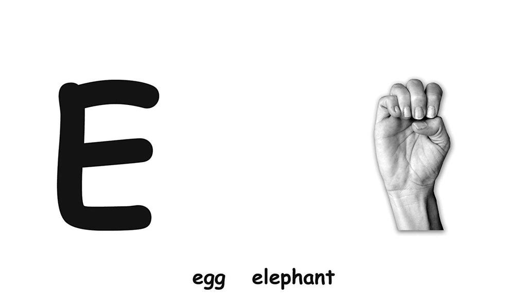 ABC Flash Cards with American Sign Language By the Flash of