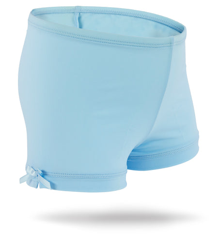 White Juniors Spandex Shorts