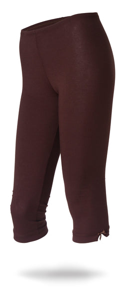 Dark Brown Capris
