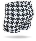 Houndstooth Girls Spandex Shorts