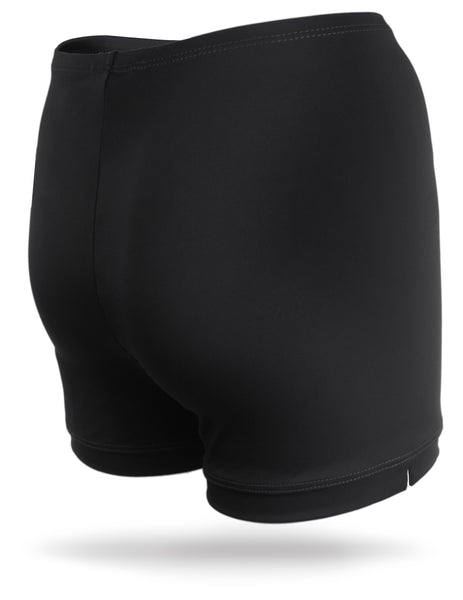 Black Juniors Spandex Shorts