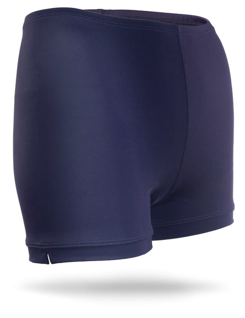 Navy Juniors Spandex Shorts