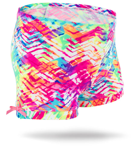 Cosmic Camo Girls Spandex Shorts