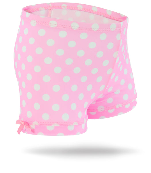 Polka Dot Girls Spandex Shorts