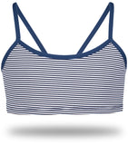 Sporty Bra in Navy Blue