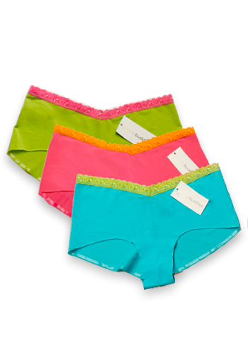 Seamless Panties Brights Bundle (Barely Buddies 3 Pack)