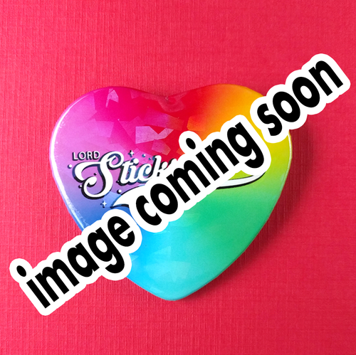 NEW! Holographic Star Heart Pinback Buttons