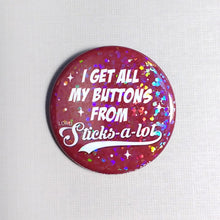 Holographic Dot Sparkle Round Pinback Buttons