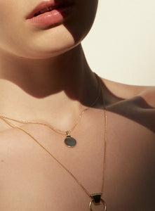 UNIFORM XV - MAEKAR CLASSIC CIRCULAR NECKLACE