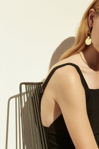 UNIFORM XIII - STATEMENT DISC EARRING