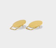 UNIFORM XII - DISC STUD EARRING