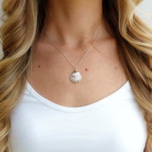 White Seashell Jewelry Necklace