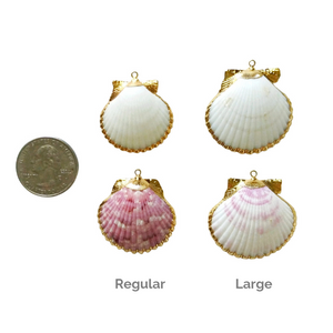 Sizes for Seashell Keychains