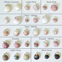 Different color of seashell necklaces