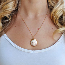 White Inspire Seashell Necklace