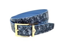 Sovereign Blue Pearl Strap & Buckle