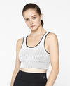 NEW! Ribbed Mono Linear Sports Bra