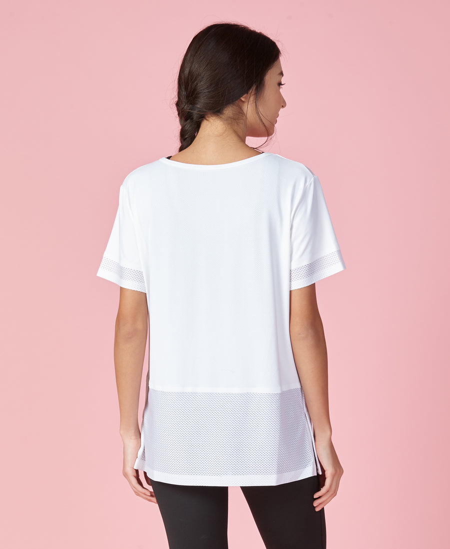 NEW! Lamination Contrast Sports Tee