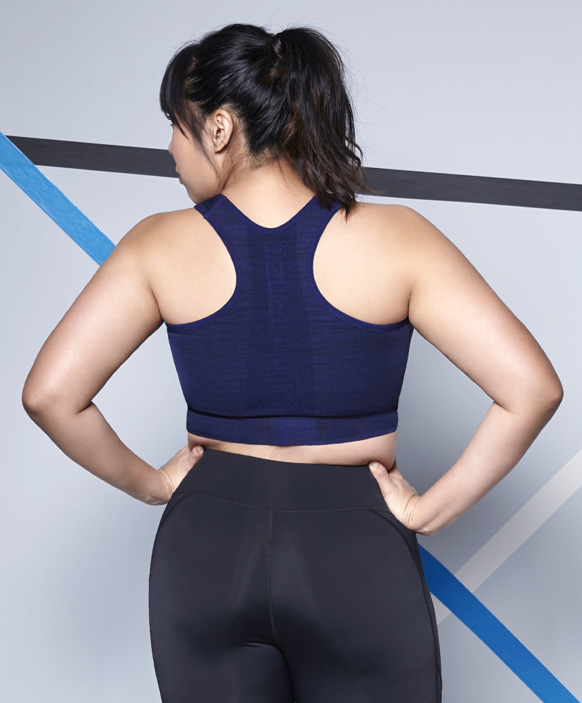 Energized Plus Seamless Sports Bra (Medium Impact)