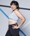 Energized Plus Crop Plus Sports Seamless Sports Bra<br><b> Buy 3 get 1 free, Buy 5 get 2 free </b>