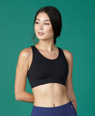 Basic Seamless Breathable Sports Bra