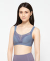 Tonal Block Sports Bra