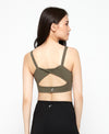 NEW! Revolved Twist Back Sports Bra