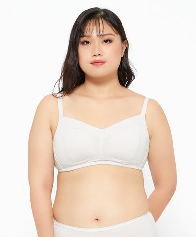 NEW! Nuance Soft Cotton Full Coverage Bralette
