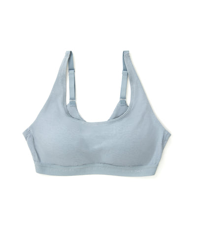 Nuance Soft Cotton Scoop Neck Bralette