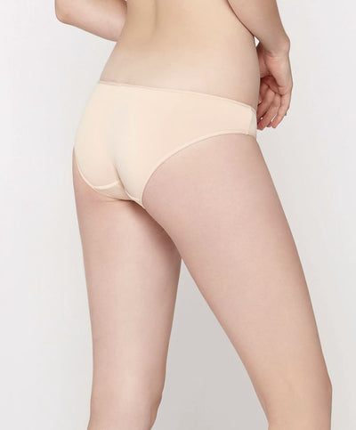 Ivory Moon Microfibre Low-Rise Mini with V-Back Panty <br> <b> ***Buy 3 panties for $10. Must buy at least 3 for discount.</b>