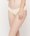 Ivory Moon Microfibre Midi with V-Back Panty