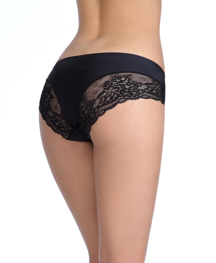 NEW COLOURS ADDED! Freecut Florals Microfibre Lace Boxshorts Panty