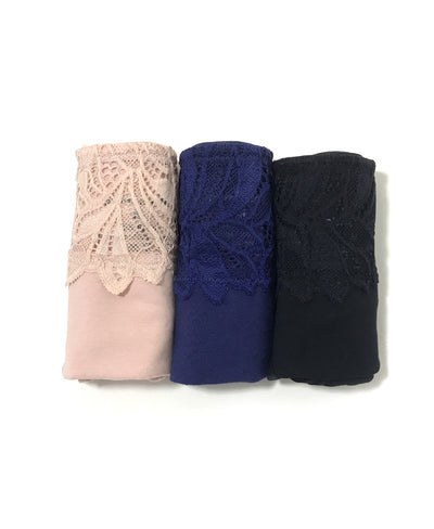 "Soft Lace Cotton Packaging Panties - Midi <br><font size=""3"" color=""#F08080"">30% off</font>"