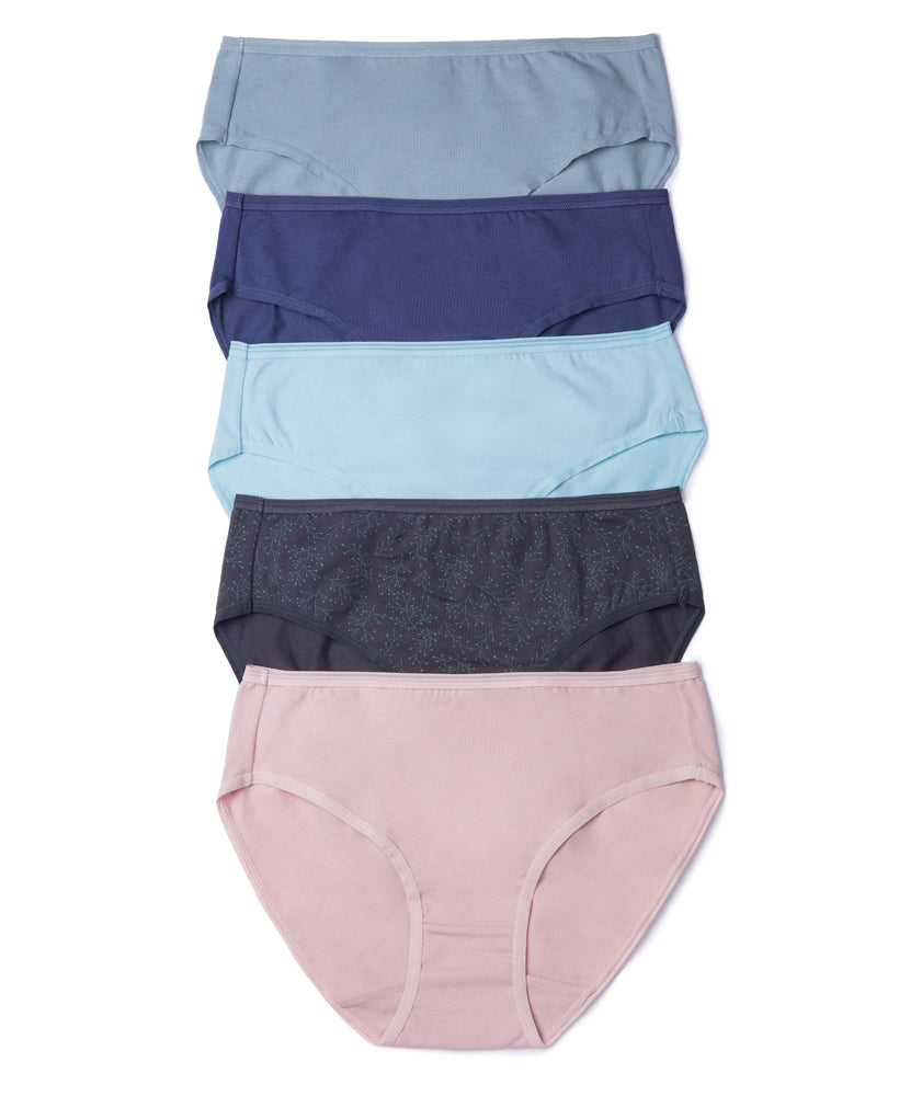 Soft Moss Comfort Cotton Packaging Panties - Midi
