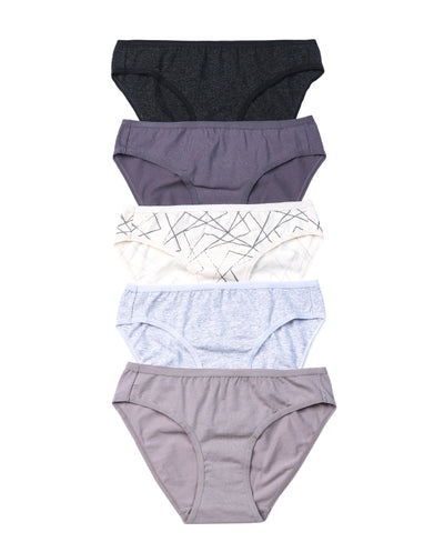 NEW! Graphic Imperfections Comfort Cotton Packaging Panties Mini